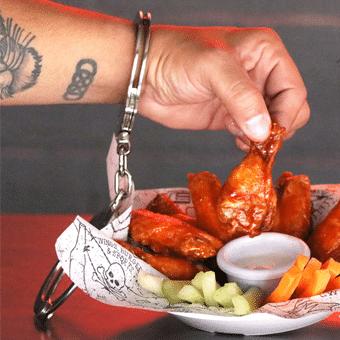 alas y otras delicias solo en criminal wings