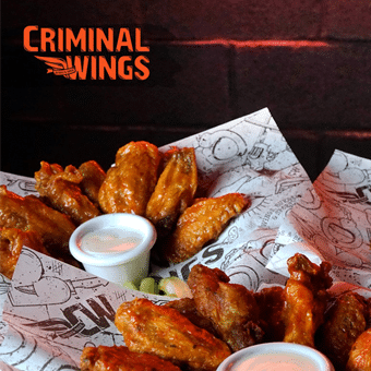 las mejores alitas en criminal wings