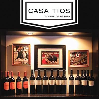 Casa Tíos Restaurante y Bar CDMX Reservas