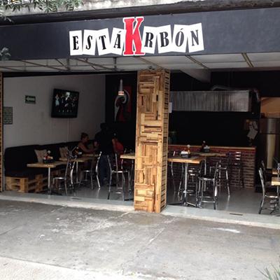 Está Krbon Reservaciones CDMX