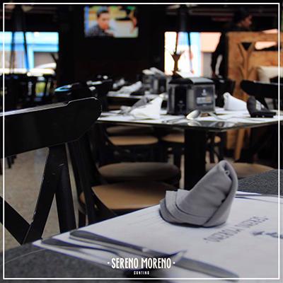 Sereno Moreno Cantina Restaurante Roma