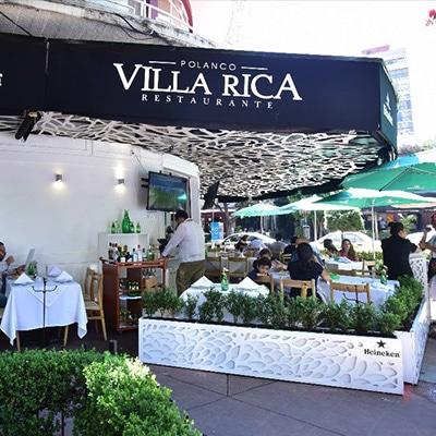 Villa Rica Polanco Reservaciones CDMX