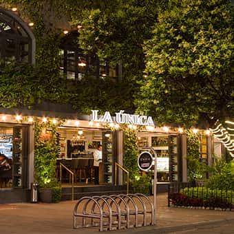 los mejores espacios en restaurante la única
