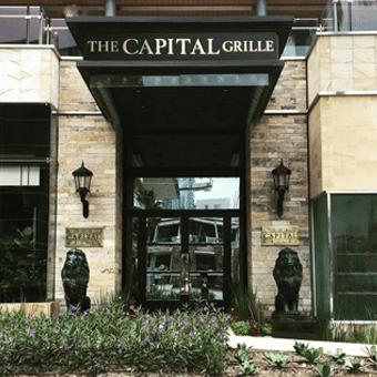 The capital grill restaurante reservandonos 6