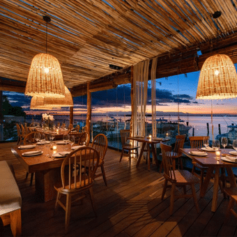 Taboo Cancún con su hermosa vista al mar
