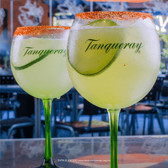 Bebidas en restaurante Fishers Acapulco
