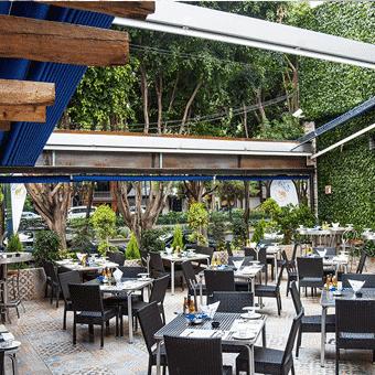 Restaurante Fisher´s Roma Condesa | terraza