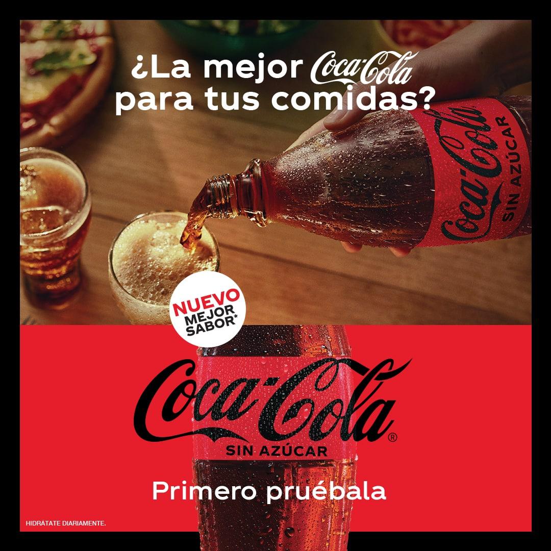 Coca Cola, la bebida ideal para acompañar tus platillos