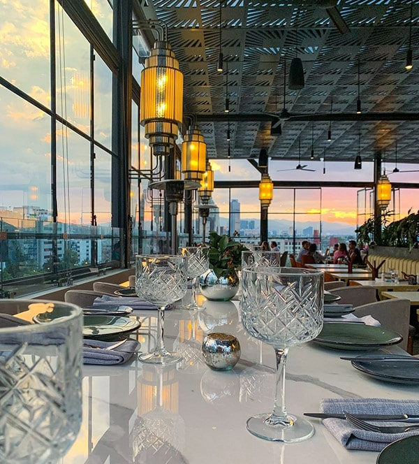 conoce los mejores restaurantes en cdmx con terraza
