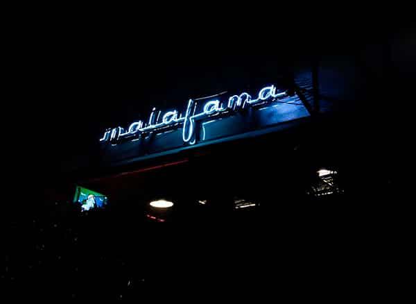 Salón Malafama restaurante en La Condesa