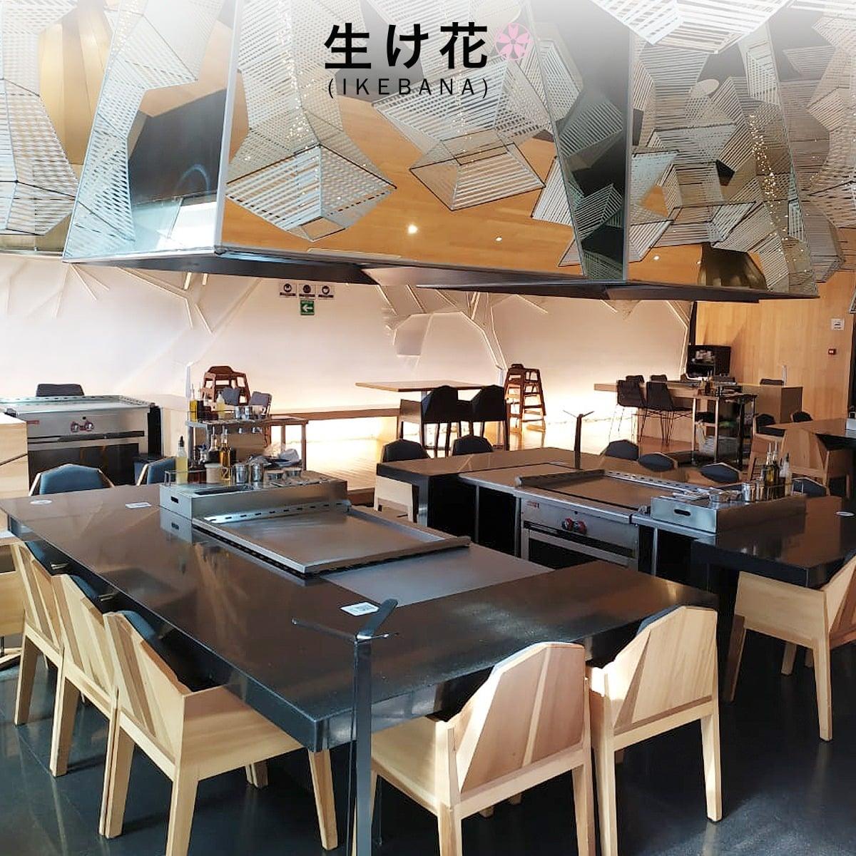 Ikebana Teppan restaurante en Querétaro