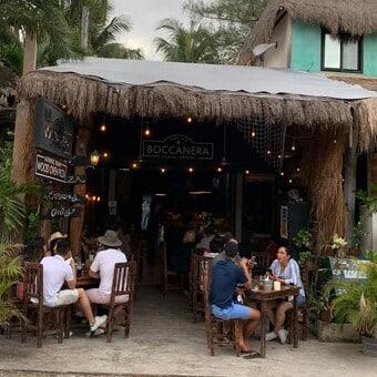restaurantes en tulum - restaurante boccanera