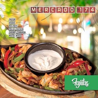 Restaurante Mercado 174 Playa del Carmen Reservándonos