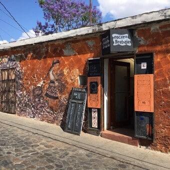 Restaurante Oscuro Brebaje Oaxaca