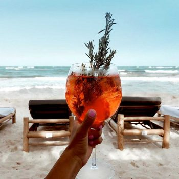 restaurantes en Tulum con vista al mar